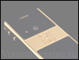 Телефон Mobiado Classic 712 GCB Gold