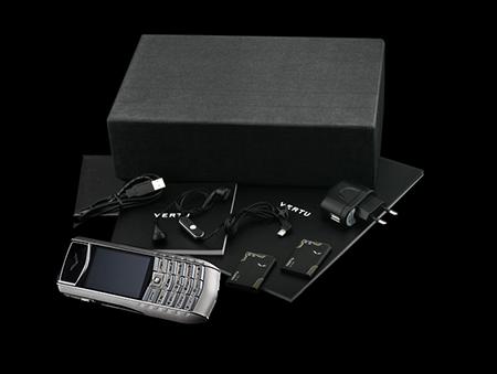 Комплектация телефона Vertu Ascent Ti Black