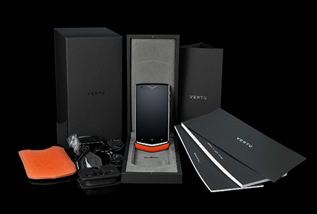 Комплектация телефона Vertu Constellation V Orange