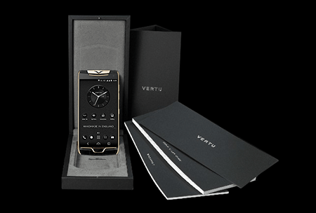 Комплектация телефона Vertu Constellation X Agate Black Red Gold