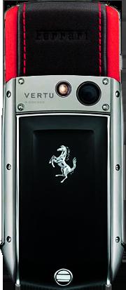 Телефон Верту Ascent Ti Ferrari Rosso