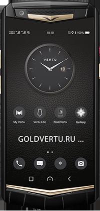 Телефон Vertu Aster P Gothic BLK Screw Alligator