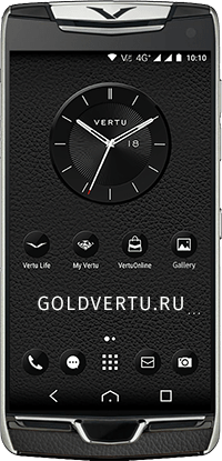 Телефон Vertu Constellation X Agate Black