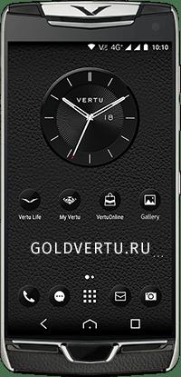 Телефон Vertu Contellation X Agate Black