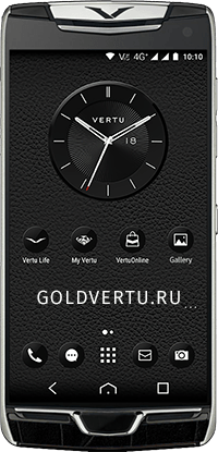Телефон Vertu Constellation X Alligator Black