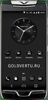 Телефон Vertu Contellation X Alligator Black