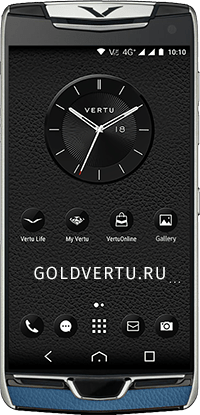 Телефон Vertu Constellation X Gray Blue