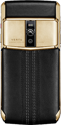 Телефон Верту New Signature Touch Jet Calf Red Gold