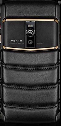 Телефон Верту New Signature Touch Pure Jet Red Gold