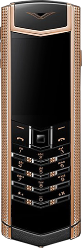 Телефон Vertu Signature S Design Clous De Paris Gold
