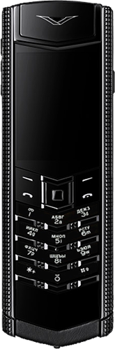 Телефон Vertu Signature S Design Clous De Paris Pure Black