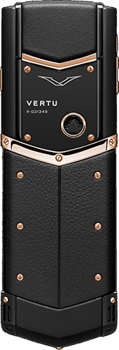 Телефон Верту Signature S Design Pure Black Red Gold Russian