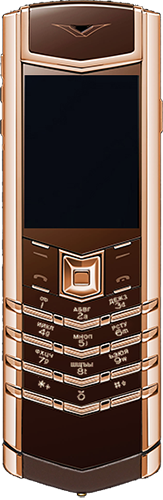 Телефон Vertu Signature S Design Red Gold Brown Russian