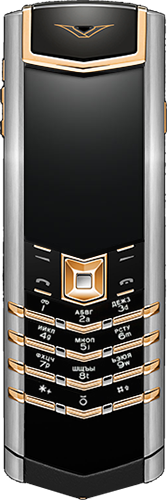 Телефон Vertu Signature S Design Red Gold Mixed Metals Russian