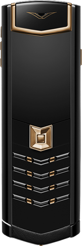Телефон Vertu Signature S Design Red Gold Ultimate Black Russian