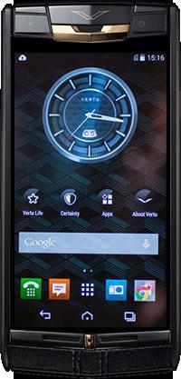 Телефон Vertu Signature Touch Pure Jet Red Gold