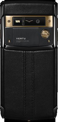 Телефон Верту Signature Touch Pure Jet Red Gold