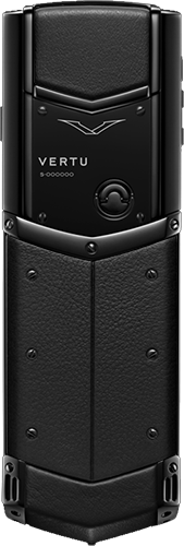 Телефон Верту Signature S Design Ultimate Black Russian