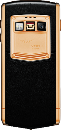 Телефон Верту Ti Titanium Red Gold