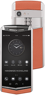Купить Vertu Aster P Baroque Dawning Orange Calf