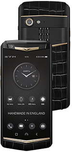 Купить Vertu Aster P Gothic BLK Screw Alligator