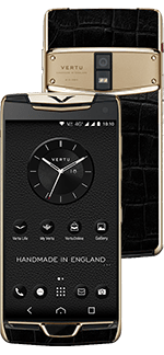 Купить Vertu (Верту) Constellation X Alligator Black Red Gold