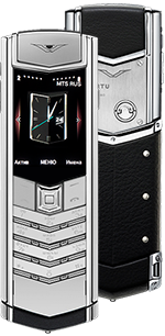 Купить Vertu (Верту) Signature S Design Pure Silver Russian