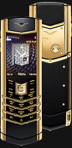 Купить Vertu (Верту) Signature S Design Gold