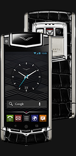 Купить Vertu (Верту) Ti Titanium Black Alligator
