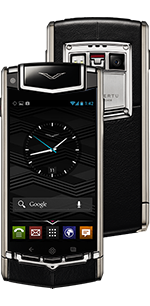 Купить Vertu (Верту) Ti Titanium Black Leather