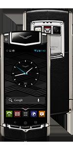 Купить Vertu Ti Titanium Black Leather