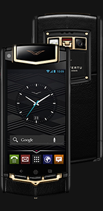 Купить Vertu (Верту) Ti Titanium Black PVD Red Gold Mixed Metals