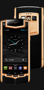 Купить Vertu Ti Titanium Red Gold